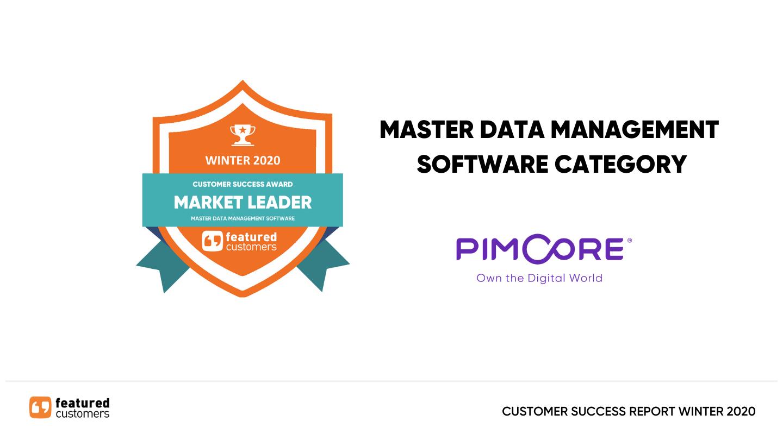 Reward for Pimcore MDM in 2020