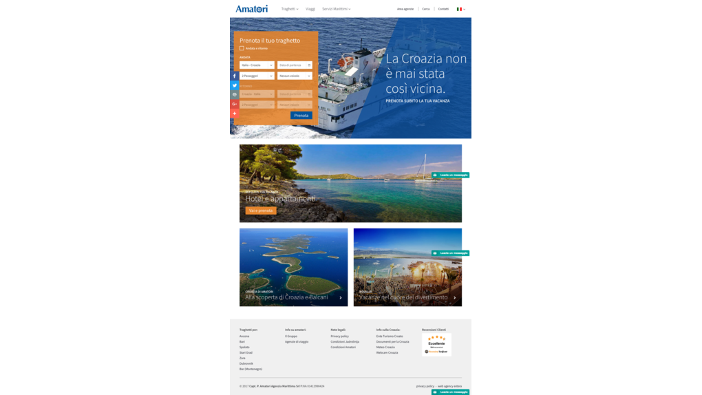 Fourfold increase in users of online ferry booking system