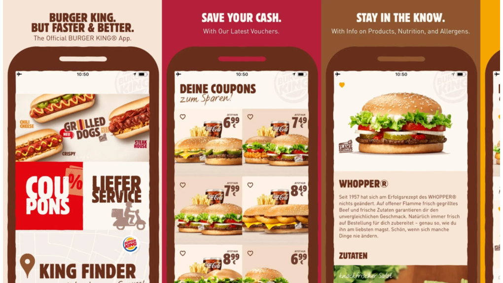 Pimcore provided a multi-lingual content management framework solution for Burger King - 5