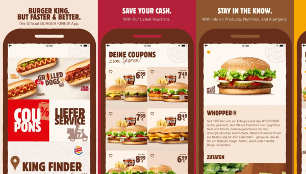 Pimcore provided a multi-lingual content management framework solution for Burger King