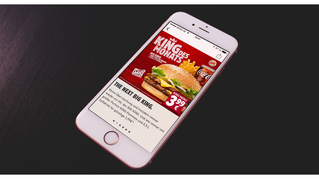Burger King Increases Their Brand Loyalty with Pimcore CMS Platform -1
