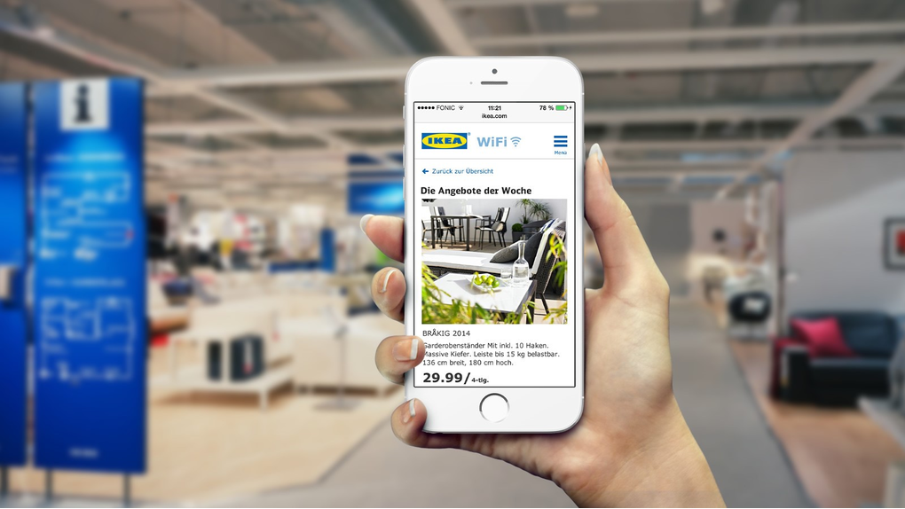 IKEA able to better connect with shoppers using the new digital touch-points designed by Pimcore CMS