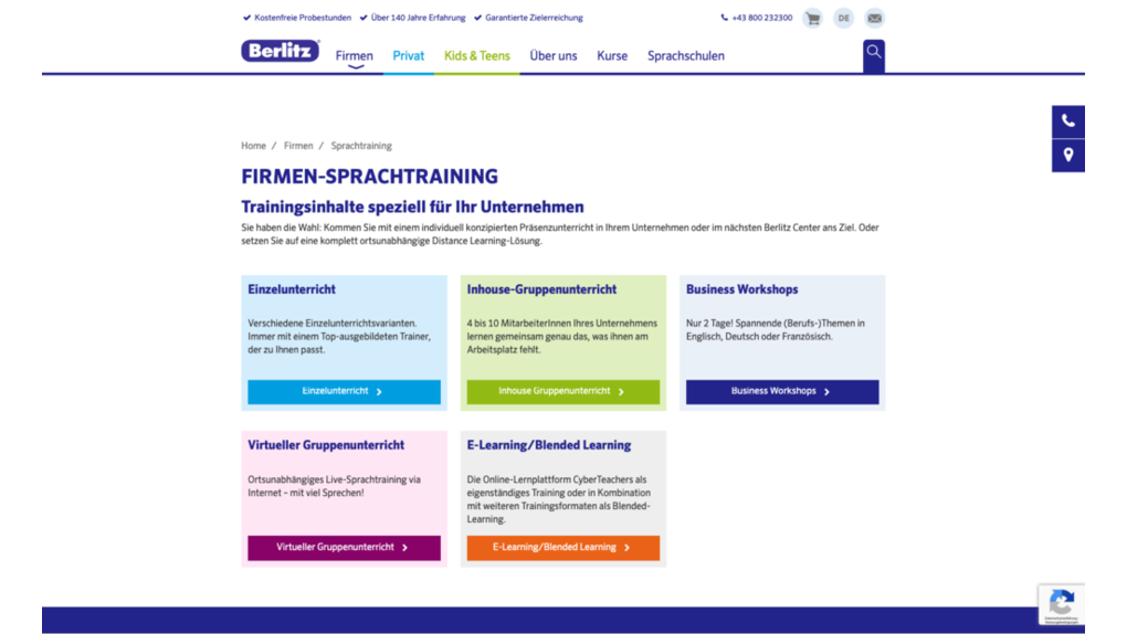 Berlitz Builds Multi-site Solution With Pimcore MDM System -2