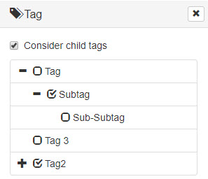 Using Tags for Filtering - Pimcore