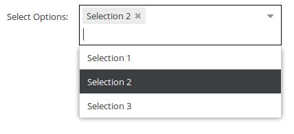 Select Types - Pimcore