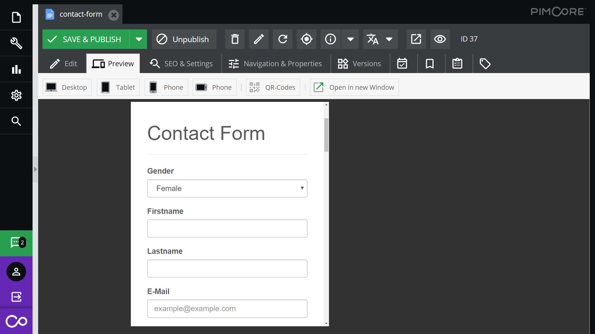 Multichannel Content Management System - Pimcore com